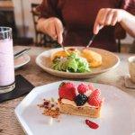 東橫線咖啡廳・祐天寺Torse|藏身巷弄的美味,午後蛋包飯&紫芋草莓奶油塔
