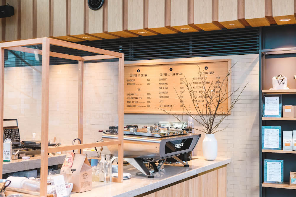 東京六本木咖啡・「VERVE COFFEE ROASTERS」日本三號店,來自加州的手沖咖啡