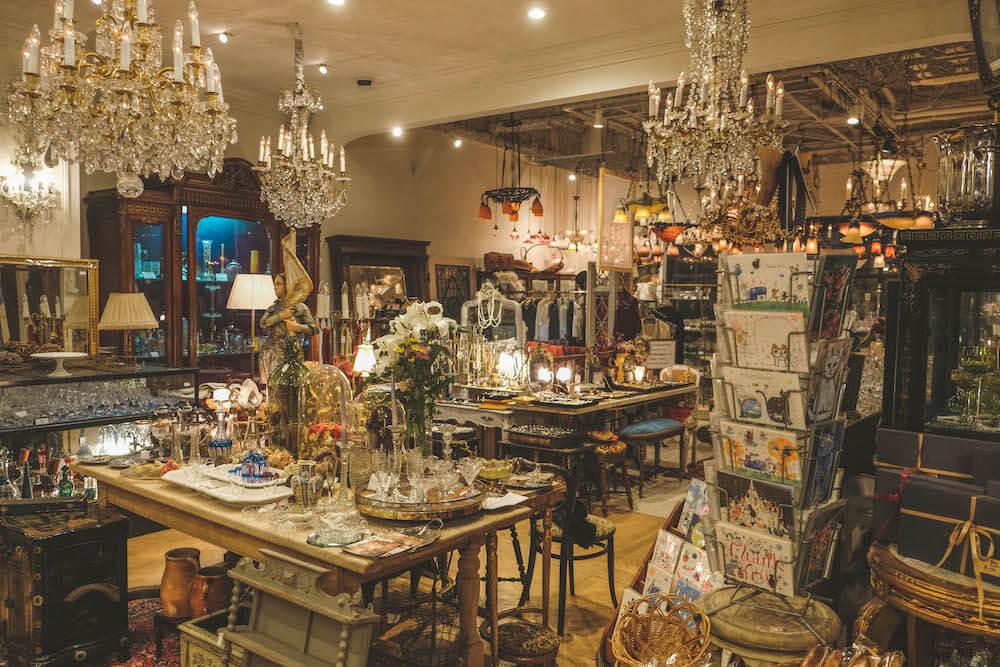 祐天寺・三軒茶屋古董傢俱咖啡店「Antique & Cafe Majorelle」