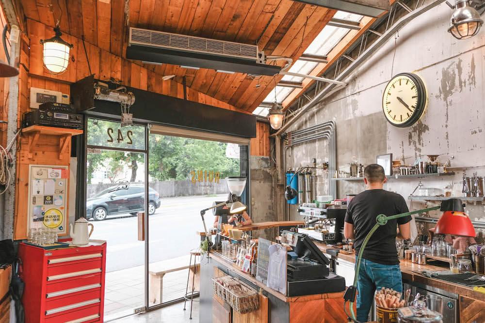 Ruins Coffee Roasters小廢墟咖啡|老屋改建美式鄉村木屋,木柵人的秘密基地