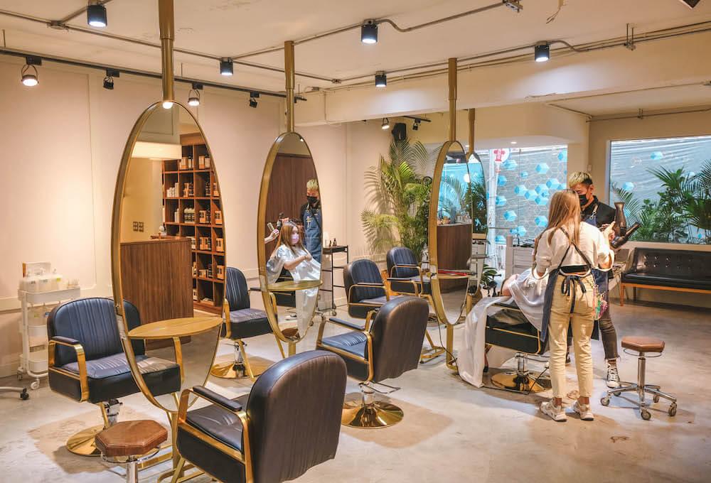 台北中山站髮廊推薦「TURN HAIR Salon」,RICA全套頭皮賦活沙龍級護髮
