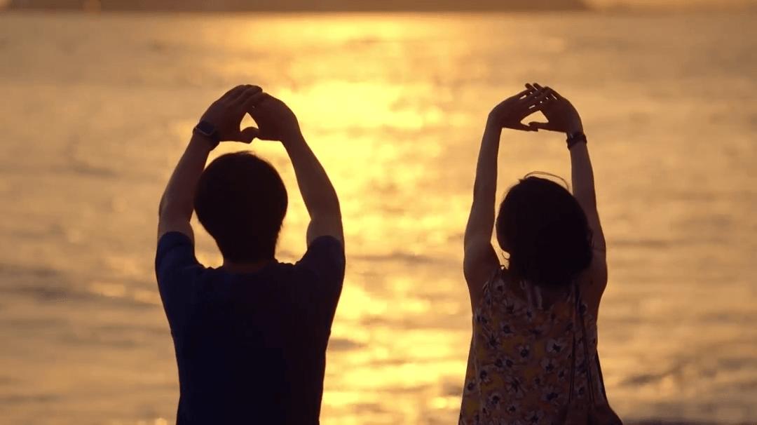 日劇《東京愛情故事2020》取景地:鎌倉稲村ヶ崎公園