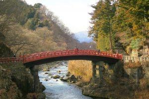 【景點推薦】日光神橋-被山川景緻所圍繞的美麗紅橋!