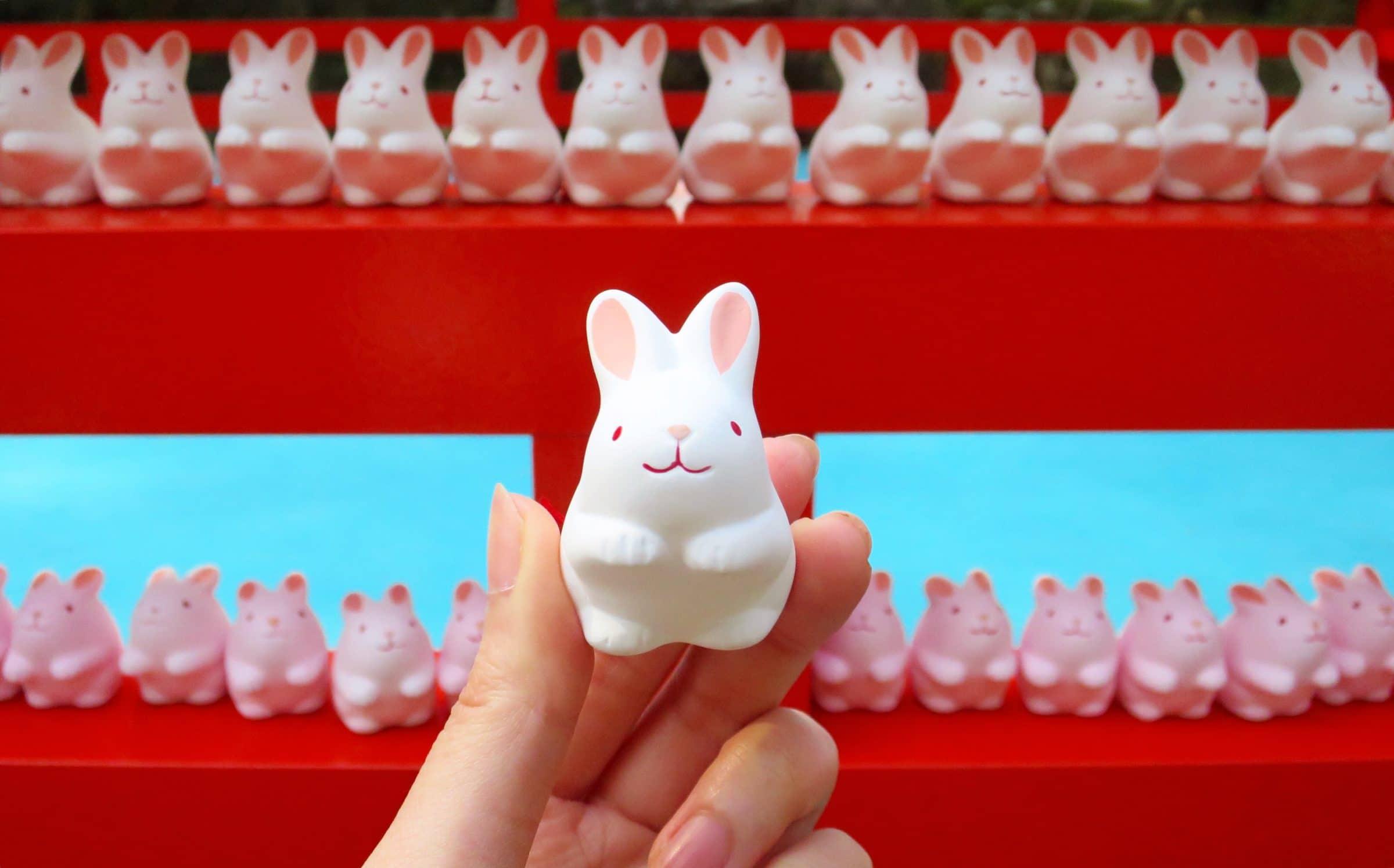 【京都景點】兔兔迷必訪!京都岡崎神社兔子御守